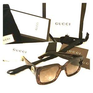 Gucci Square sunglasses ****sold*****